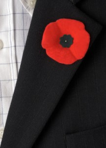 Wear Poppy Pin or American Flag Pin Moment of Remembrance | Country